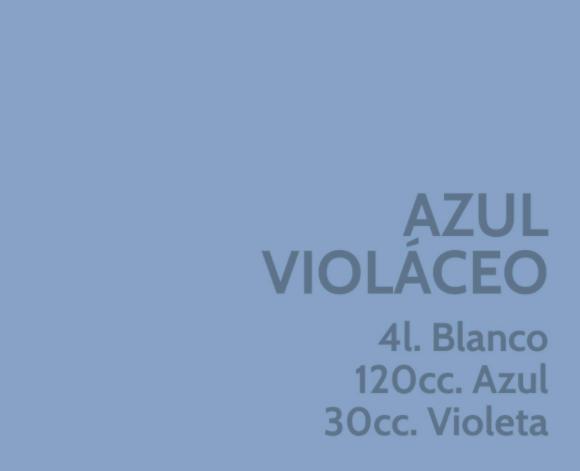 Azul Violáceo